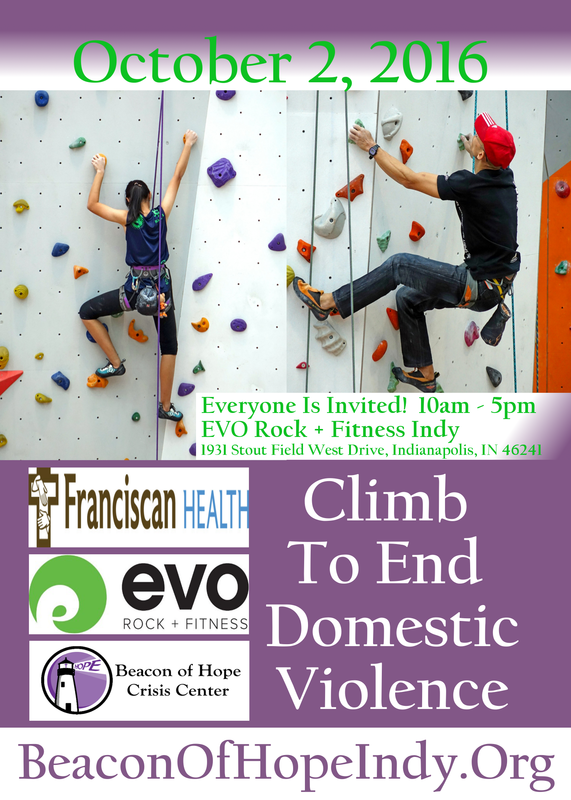 Climb To End Domestic Violence | beaconofhopeindy.org