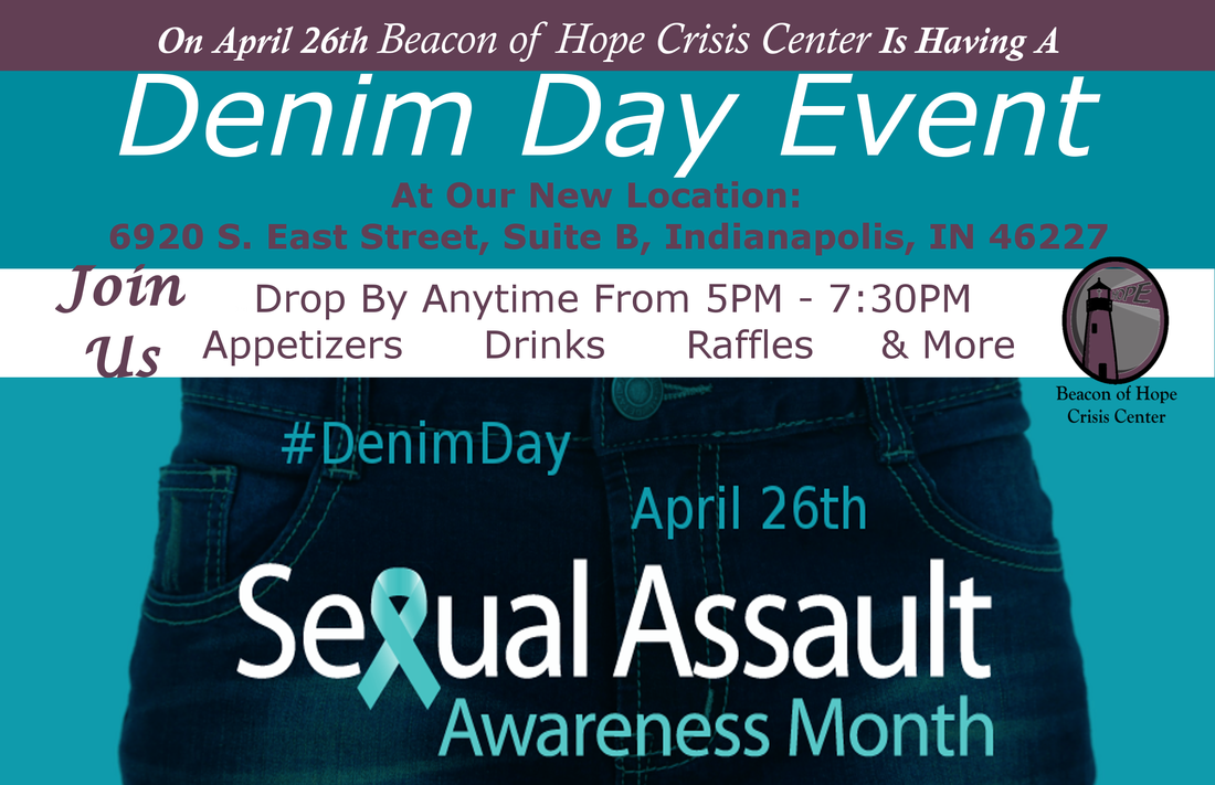 Beacon of Hope Crisis Center Denim Day Event