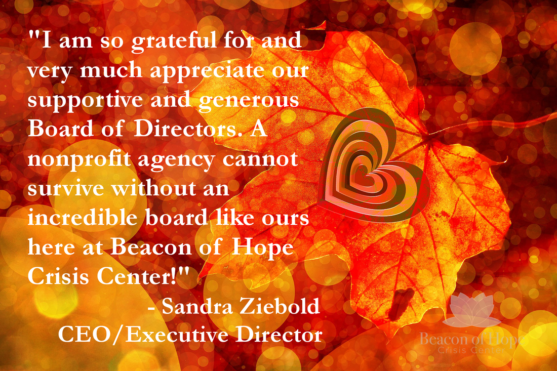 Grateful For Our Board at beaconofhopeindy.org