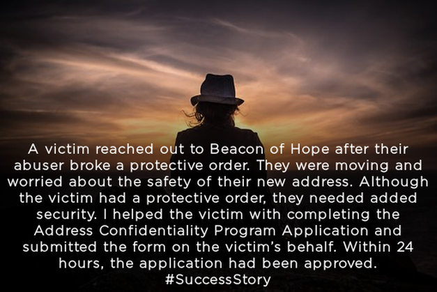 beaconofhopeindy.org   #SuccessStory