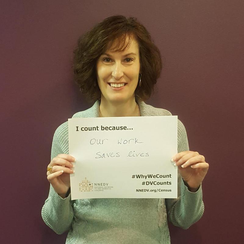 Sandra K. Ziebold, CEO of Beacon of Hope Crisis Center